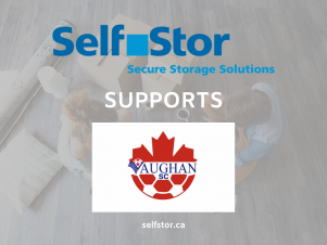 Richmond Hill storage facility proudly sponsors Vaughan Soccer Club