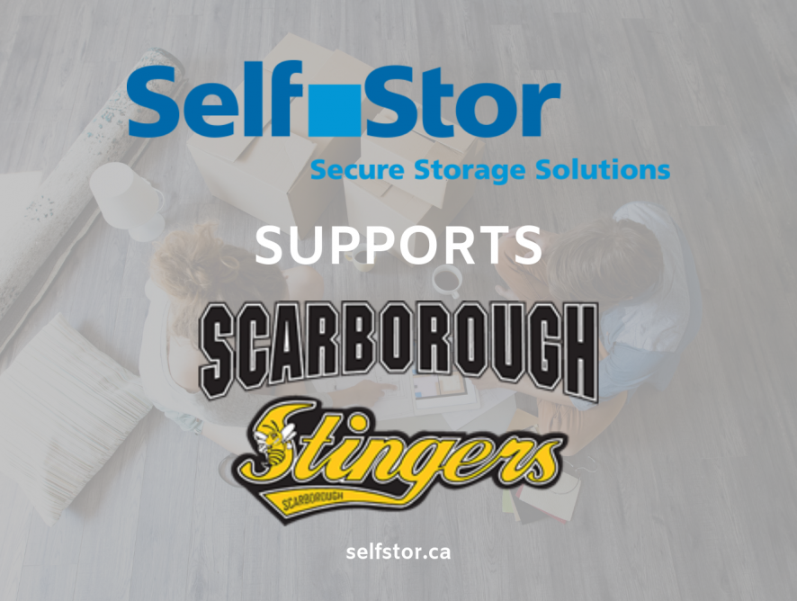 North York storage facility proudly sponsors Scarborough Stingers