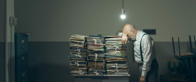 Document Storage unit at self stor